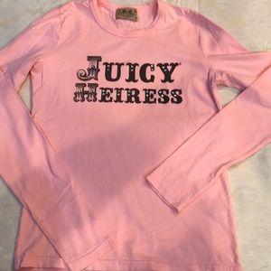 Juicy Couture T-shirt Sz M